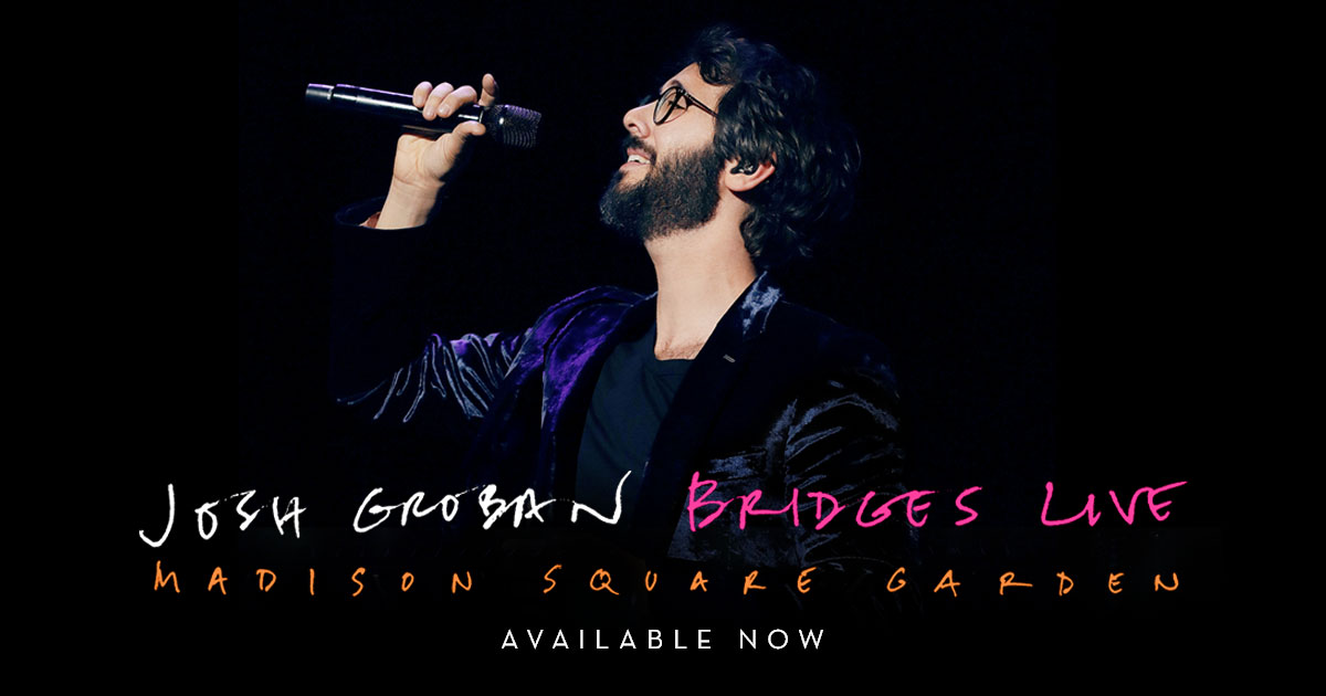 The Official Website For Josh Groban Including News Tour Dates