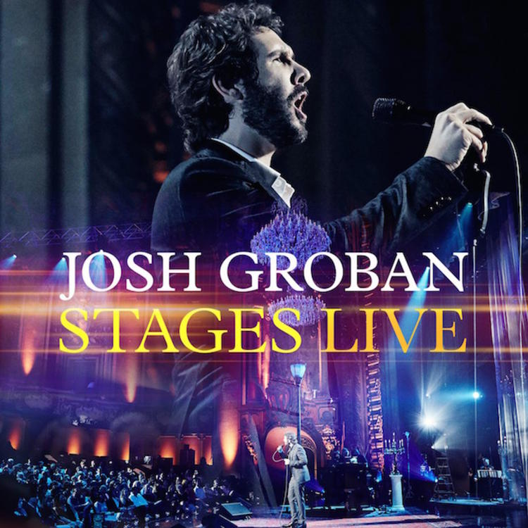 Stages Live by Josh Groban - MP3 Downloads, Streaming Music, Lyrics